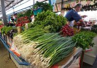 Зелень на рынке